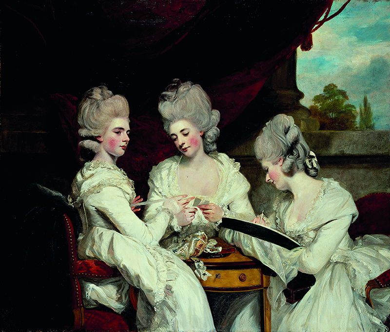 Portrait of the Ladies Waldegrave by Joshua Reynolds