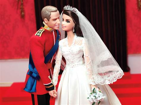 Royal Wedding Barbie Dolls