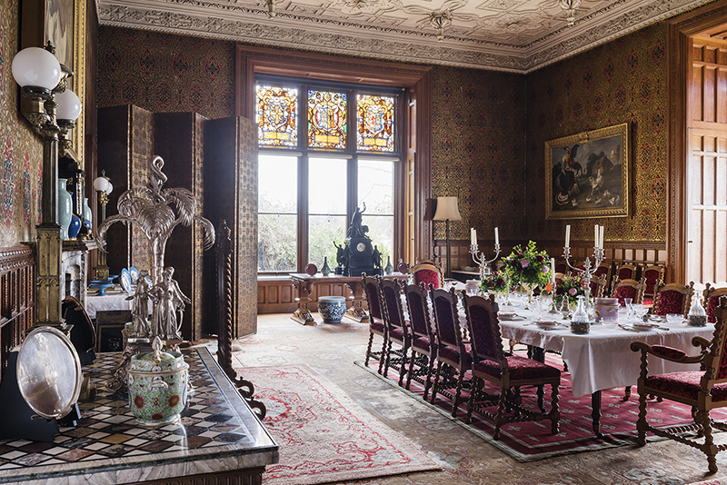 The Dining Room at Charlecote Park