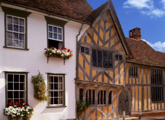 Little Hall at Lavenham, Suffolk. Credit: Travel Pictures Ltd