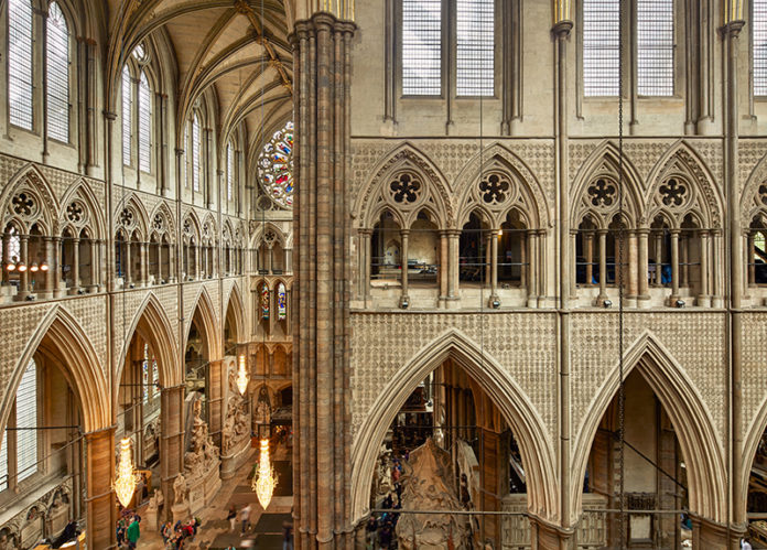 The Triforium, Westminster Abbey