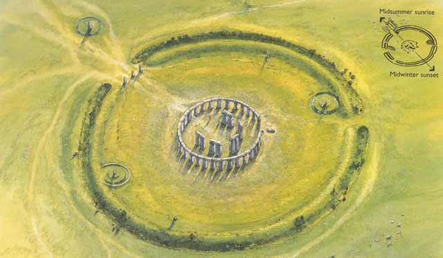 Stonehenge in about 2300BC