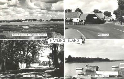 Postcard of Hayling Island