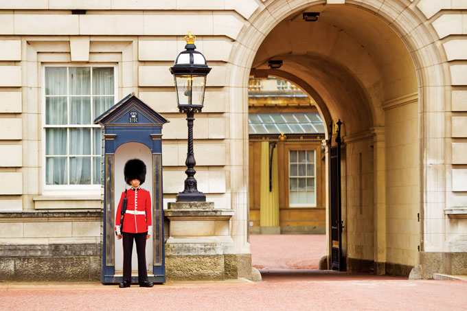 Buckingham Palace soldier | Inside Buckingham Palace, London