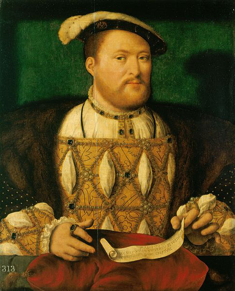 King Henry VIII. Credit: Joos van Clere/Royal Collection/Wikipedia