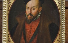 Portait of John Dudley, Duke of Northumberland at Knole