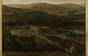 A View of Chatsworth by Jan Siberechts, Devonshire Collection
