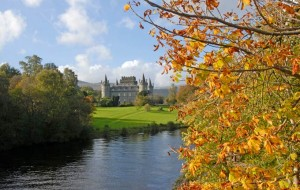 The romantic exterior of Inveraray Castle © Alamy