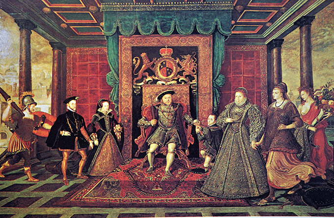 Tudor dynasty, Tudor succession, Tudors