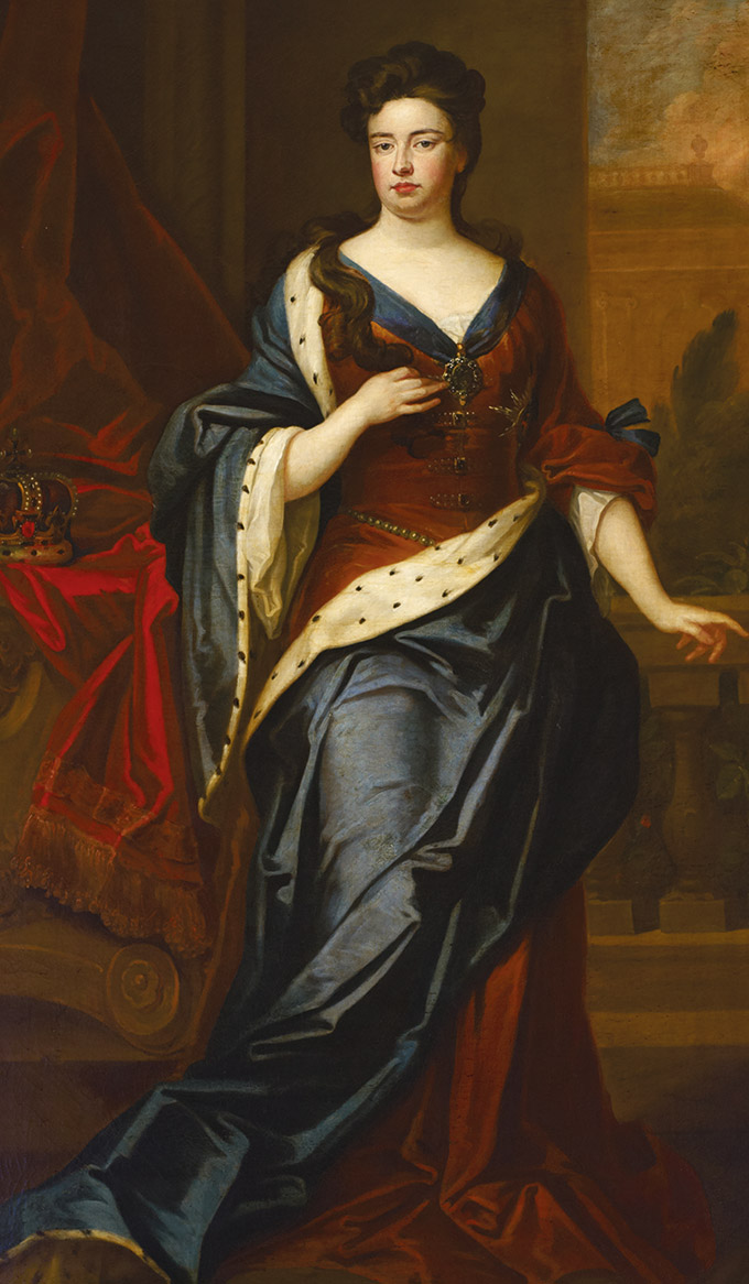 Queen Anne (1665-1714) by Sir Godfrey Kneller