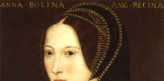 Portrait of Anne Boleyn c1534
