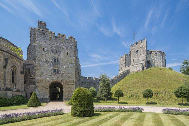 Arundel Castle Norman motte and keep | photos of Arundel Castle | Castles | British castles
