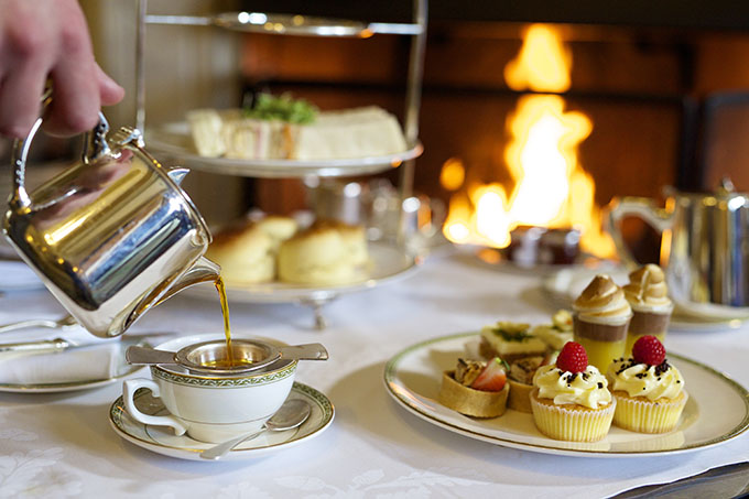 Ashdown Park Hotel and Country Club afternoon tea, Sussex