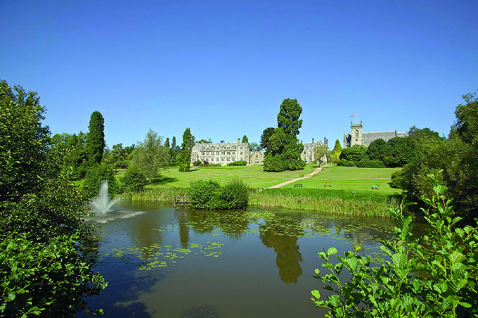 Ashdown Park Hotel and Country Club, Sussex.