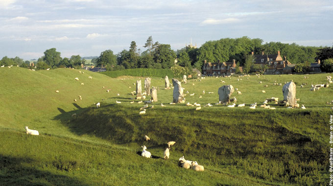 Avebury Stone Circle Most Haunted Places in Britain Red Lion Pub Wiltshire