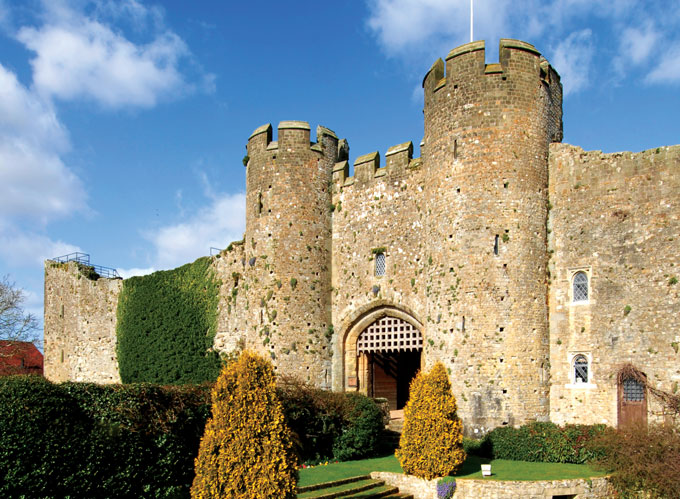 Amberley Castle, Sussex | castles you can stay in | stay in a British castle