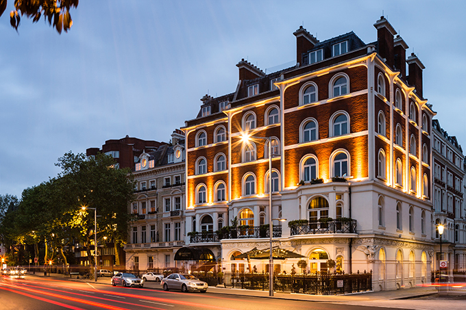 Baglioni Hotel London exterior. Five-star luxury by Kensington Palace | London hotels | five-star London