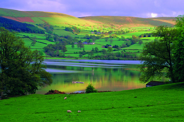 Bala Lake, Snowdonia National Park, Wales, UK, Europe