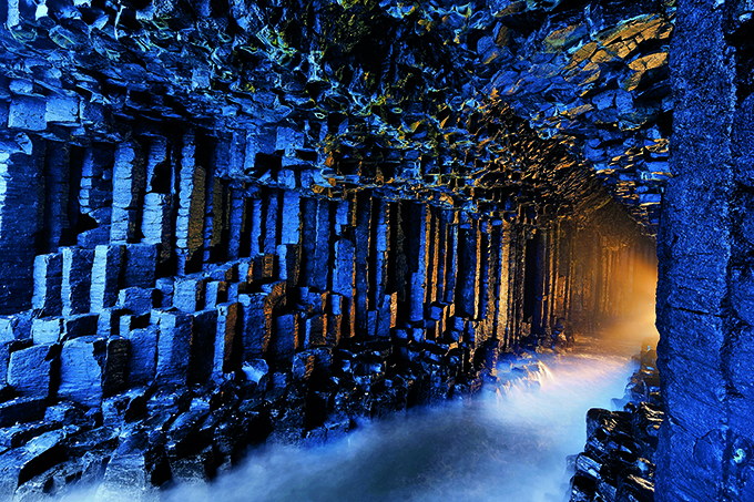Basalt pillars line Fingal's Cave. Credit: National Geographic Image Collection/Alamy