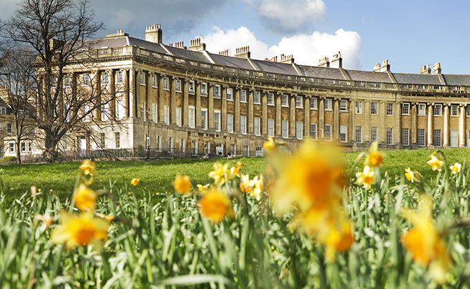 Royal Crescent, Bath. 12 wonders of Britain: British places everyone should visit once