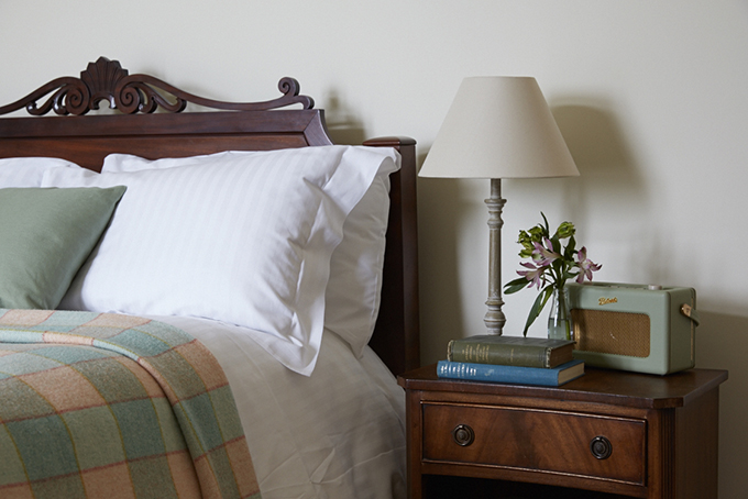 Bedroom at The Old Coastguard, Cornwall | Win a luxury Cornish escape | Cornwall hotels | places to stay Cornwall