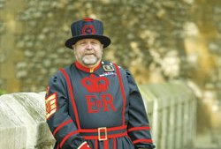 Beefeater, Tower of London