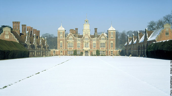 Blickling Hall Norfolk Most Haunted Places in Britain