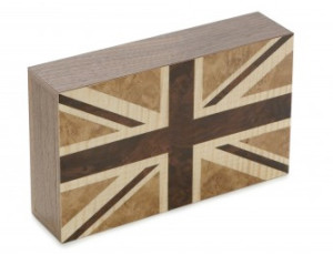 David Linley Union Jack Bookends