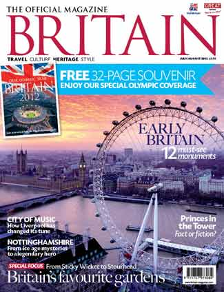Britain Magazine Cover London