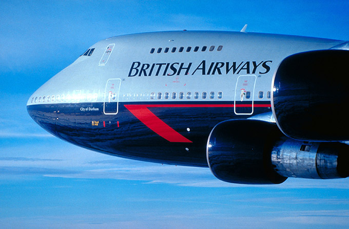 British Airways plane. Credit: VisitBritain/Britain On View