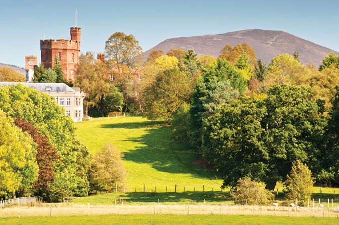 Ruthin Castle, Denbighshire | Castles you can stay in | Stay in a British castle