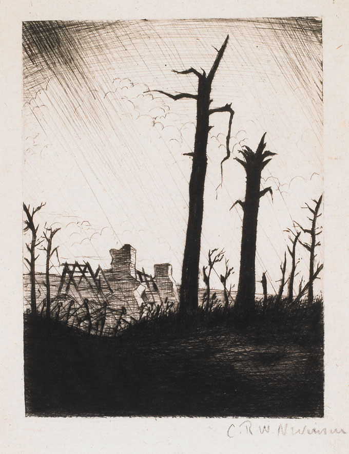 CRW-Nevinson,-Reclaimed-Country,-1917,-drypoint,-20-x-14-cm.-Courtesy-of-Osborne-Samuel