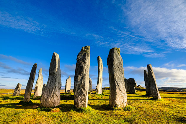 Callanish standing stones, Lewis and Harris, Outer Hebrides, Scotland. Beautiful photos of Lewis and Harris