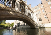 Bridge of Sighs, St John's College, Cambridge. Credit: Visit Britain