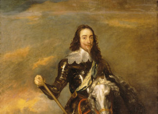 King Charles I (1600-1649) on Horseback by Sir Anthony van Dyck