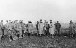 THE CHRISTMAS TRUCE ON THE WESTERN FRONT, 1914 © Imperial War Museum (Q 50719)