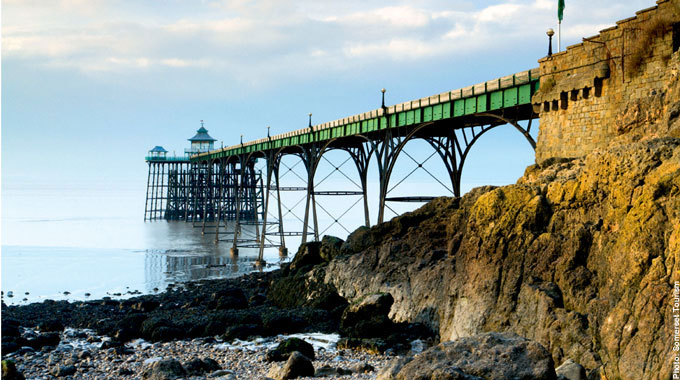 Clevedon Pier in Somerset