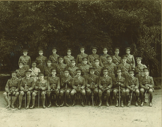 Colonel Leonard Messel and the Royal East Kent Regiment, knowns as the Buffs