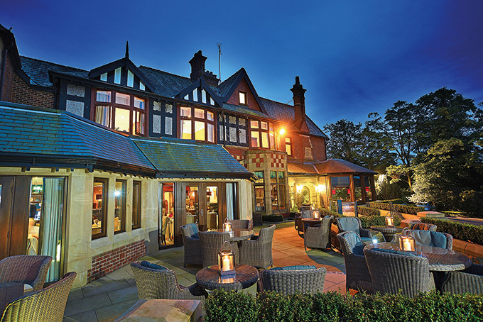 Northcote hotel in the Ribble Valley, Lancashire