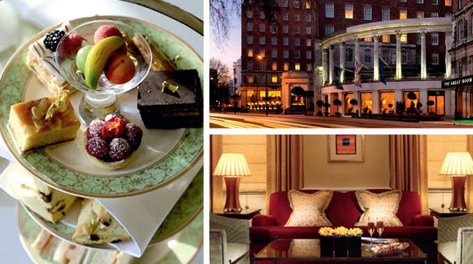 Win a royal themed stay at London's luxury Grosvenor House