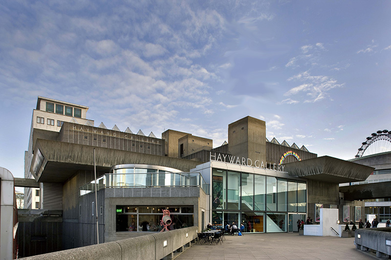 The Hayward Gallery Building. Credit: Morley von Sternberg
