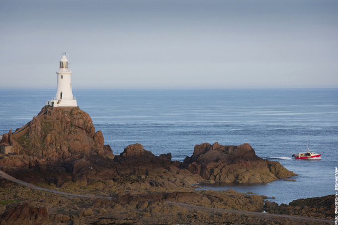 Corbiere Lighthouse Jersey Channel Islands