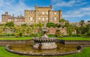 culzeancastle castle palace fountain green hedge window castles culzean