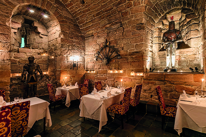 The Dungeon Restaurant, Dalhousie Restaurant, near Edinburgh | Best hotels in Scotland