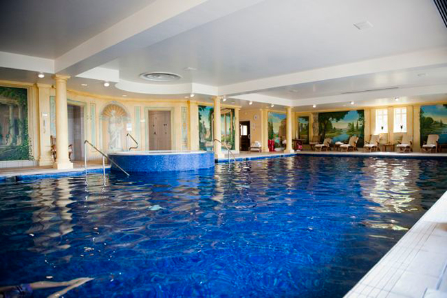 Hotel indoor pool  Fancy a dip? Our five favourite swimming pools - Britain Magazine ...