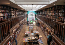 Daunt Book Shop, London. Credit: Creative Commons