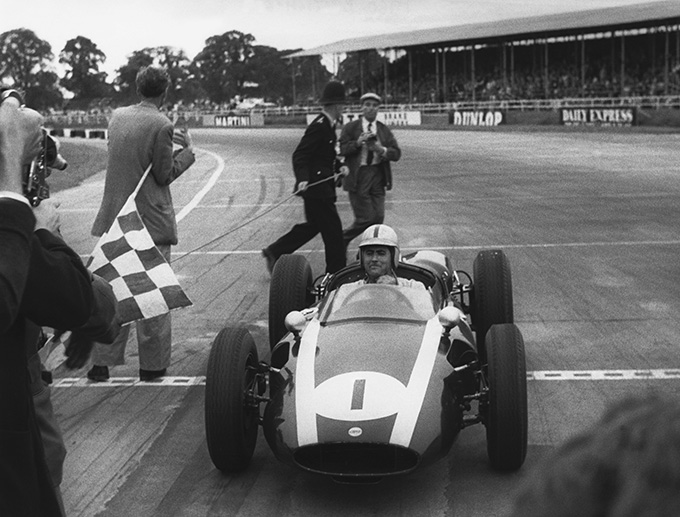 David-Brabham-will-drive-a-Cooper-Climax-T53-in-Silverstone's-50th-Grand-Prix-parades---the-same-model-as-the-car-his-father-Sir-Jack-Brabham-drove-to-victory-at-the-1960-British-Grand-Prix