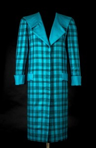 Princess Diana, Tartan blue suit