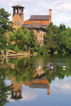 Derby-Silk-Mill-and-rower