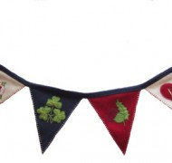 Diamond Jubilee Bunting by Jan Constantine